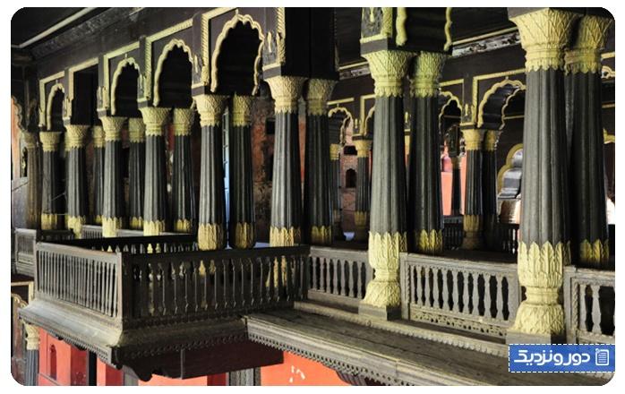 کاخ و قلعه تیپو سلطان Tipu Sultan's Palace and Fort