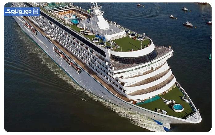 کشتی کریستال سِرِنتی Crystal Serenity