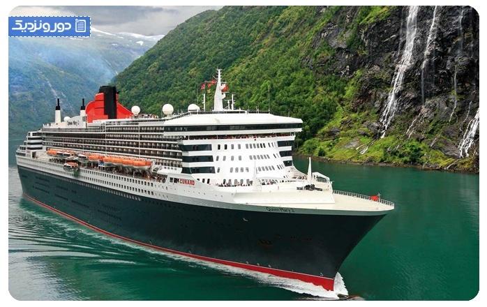 کشتی کوئینماری۲ cruise queen mary 2