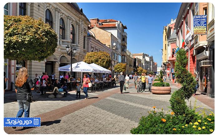 Plovdiv ، شهر هفت تپه