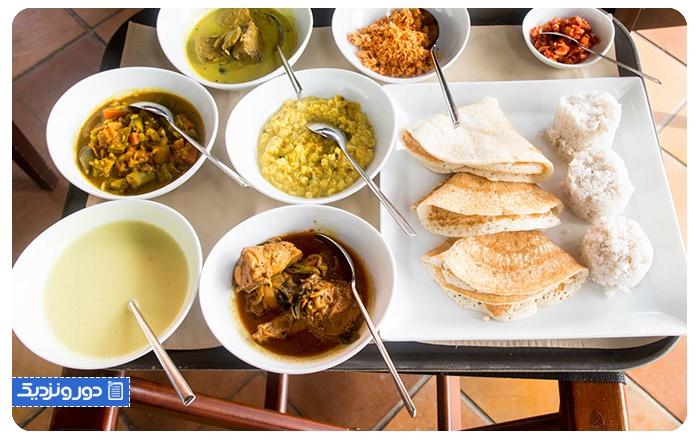 فرهنگ غذایی سریلانکا