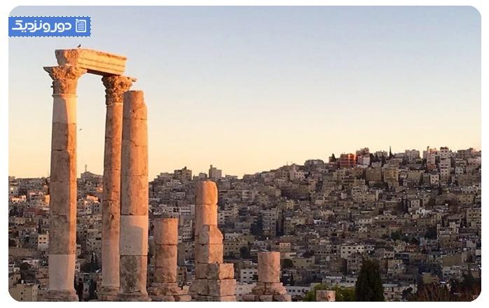 ارگ عمان: یک بنای دیدنی Amman Citadel