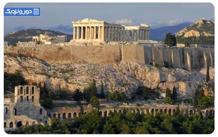 ماه عسل در یونان