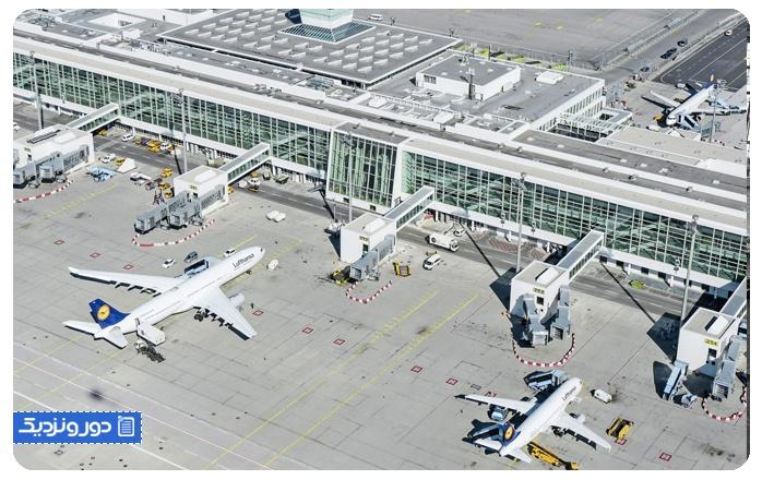 فرودگاه های آلمان