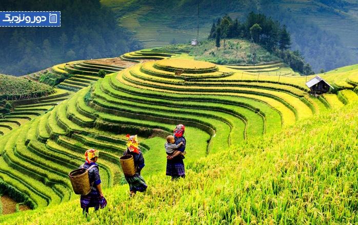 گذراندن ماه عسل در ویتنام