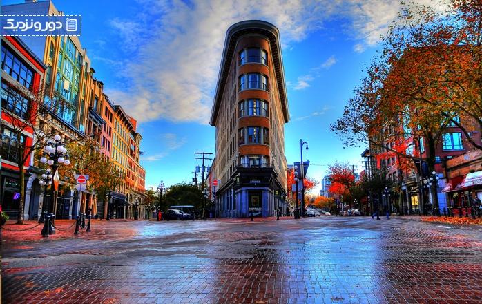 هتل های ونکوور برای مسافران لوکس