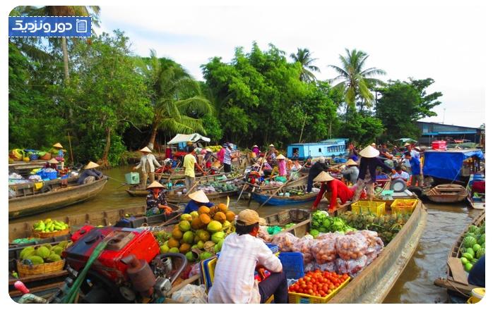 جاذبه های هوشی مین Ho Chi Minh