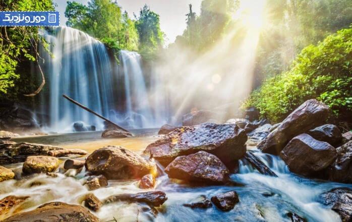 بهترین آبشارهای کامبوج که باید بخشی از سفر بعدی شما باشند!