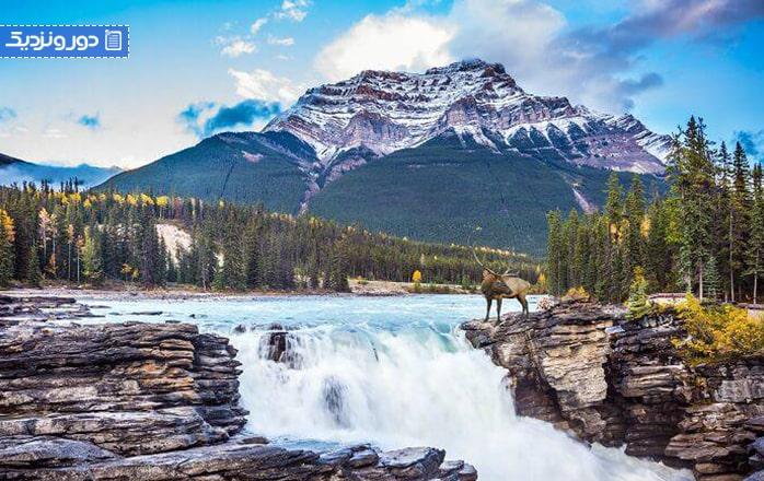 ۹ آبشار در کانادا که شما را مسحور خواهد کرد
