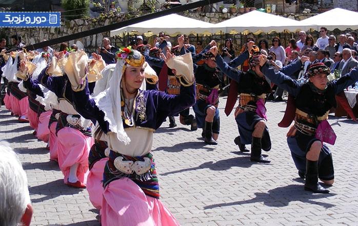 جشنوارههای رقص مردمی