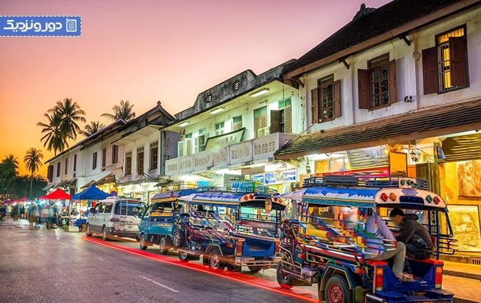 سیستم حملونقل در لائوس
