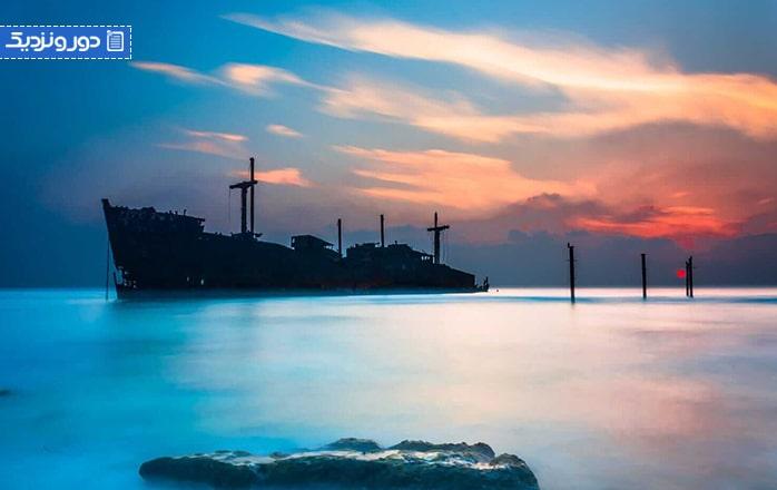 لوکسترین تفریحات دریایی جزیره کیش