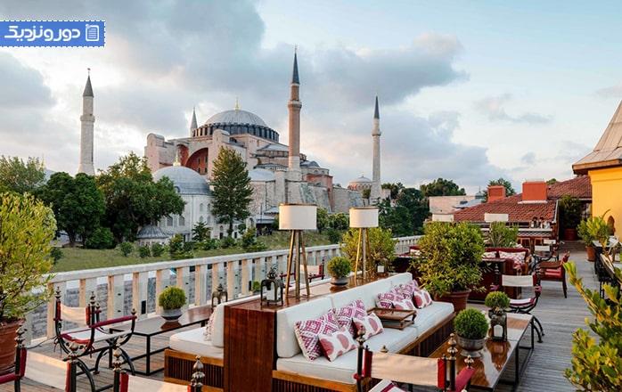معرفی بهترین هتلهای ۵ ستاره استانبول