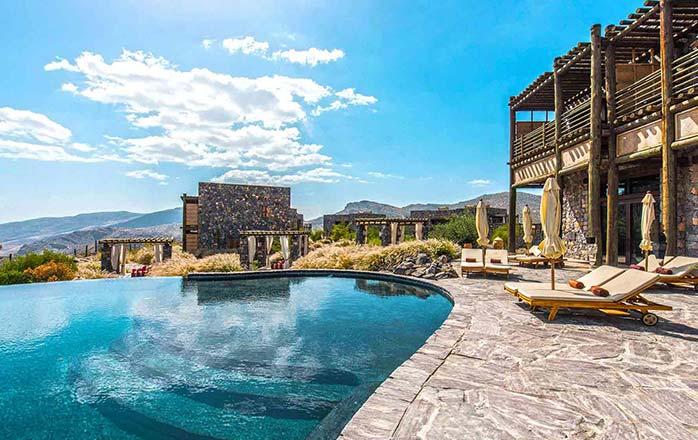 ۵ هتل برتر عمان