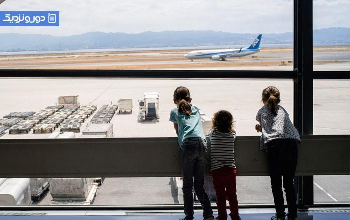 آیا بلیط هواپیما برای بچهها نیمبها است؟